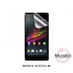 Brando Workshop Ultra-Clear Screen Protector (Sony Xperia M)
