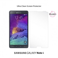 Brando Workshop Ultra-Clear Screen Protector (Samsung Galaxy Note 4)