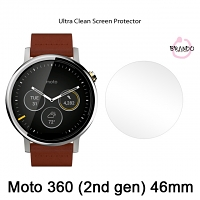 Brando Workshop Ultra-Clear Screen Protector (Motorola Moto 360 (2nd gen) 46mm)