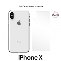 Brando Workshop Ultra-Clear Screen Protector (iPhone X - Back Cover)