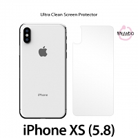 Brando Workshop Ultra-Clear Screen Protector (iPhone XS (5.8) - Back Cover)