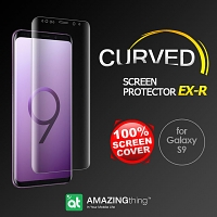 AMAZINGthing Curved Ultra-Clear Screen Protector (Samsung Galaxy S9)