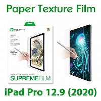 Amazingthing Supremefilm Paperlike Screen Protector for iPad Pro 12.9 (2020)