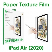 Amazingthing Supremefilm Paperlike Screen Protector for iPad Air (2020)