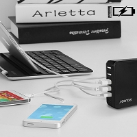 Seenda 1-Port Type-C + 5-Port USB Charger
