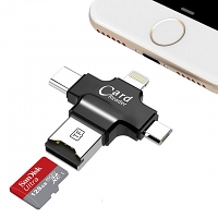 4-in-1 OTG Card Reader
