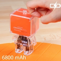 Mr. Box Planet - Crystal Doll Power Bank 6800mAh