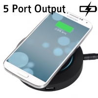 ORICO OCP-5US 5-Port USB Charger with Wireless Charging