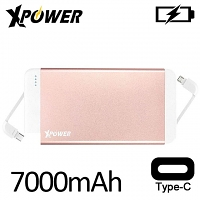 Xpower PB7C 24W 7000mAh Ultrathin Type-C Power Bank