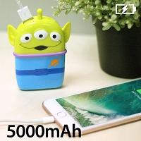 3D Alien Portable Power Bank (5000mAh)