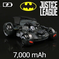 DC Justice League Batman Chariot Power Bank 7000mAh