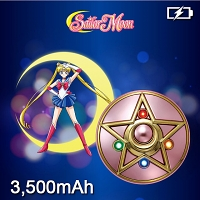 Sailor Moon Crystal Star Compact Portable Power Bank