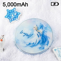 Frozen II Elsa Power Bank with Make Up Mirror