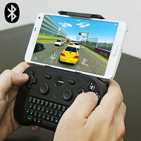 Bluetooth Gamepad with Keyboard