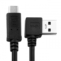 USB 3.0 A Male (Right 90°) to USB 3.1 Type-C Short Cable