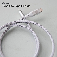 Cheero Type-C to Type-C Cable