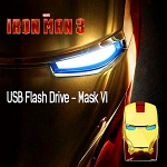infoThink IRON MAN 3 USB Flash Drive - Mask VI