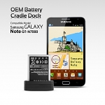 OEM Samsung Galaxy Note GT-N7000 Battery Cradle Dock