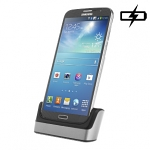 OEM Samsung Galaxy Mega 6.3 Cover-Mate 2nd Battery USB Cradle