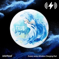 infoThink Frozen Series Wireless Charging Pad - Elsa