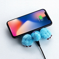 infoThink Disney Monsters Inc Series Booty Wireless Charging Pad - Sulley