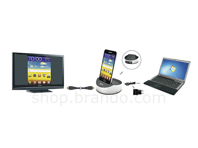 MHL to HDMI Docking Station for Samsung Galaxy Note