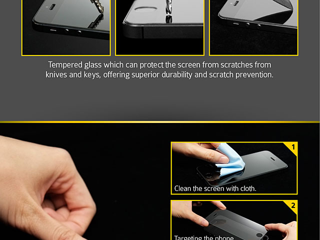 Brando Workshop 0.15mm Premium Tempered Glass Protector (iPhone SE)