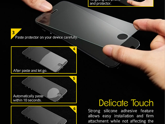Brando Workshop 0.15mm Premium Tempered Glass Protector (iPhone 6)