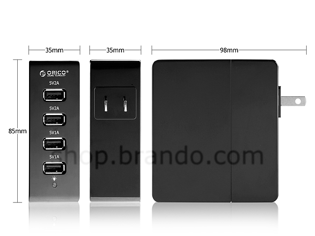 Orico 4-Port USB Charger