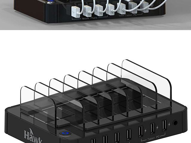 Hawk S760 7-Port Charging Station