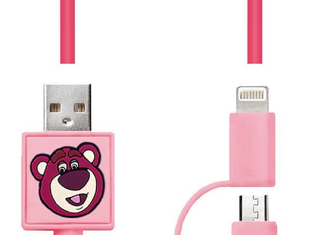 Toy Story Series 2-in-1 Lightning + microUSB Fast Charging Cable