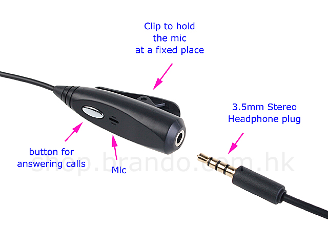 3.5mm adaptor with Microphone