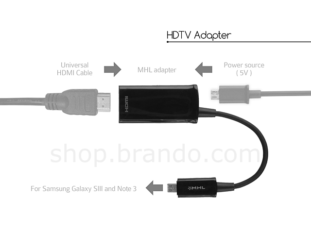 Hdmi Output Cable Mhl Cable For Samsung Galaxy Note 3 S3