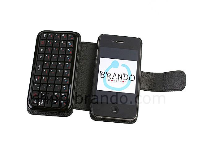 iPhone 4 Case with Bluetooth Keyboard
