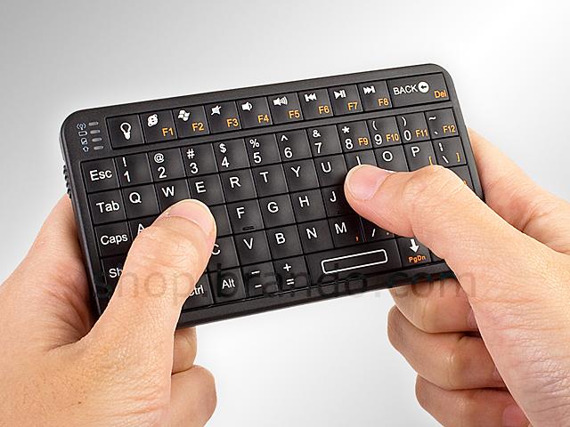 Slim Bluetooth Handheld Keyboard