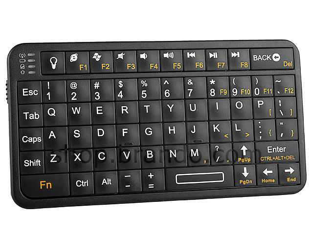 Slim Bluetooth Handheld keyboard
