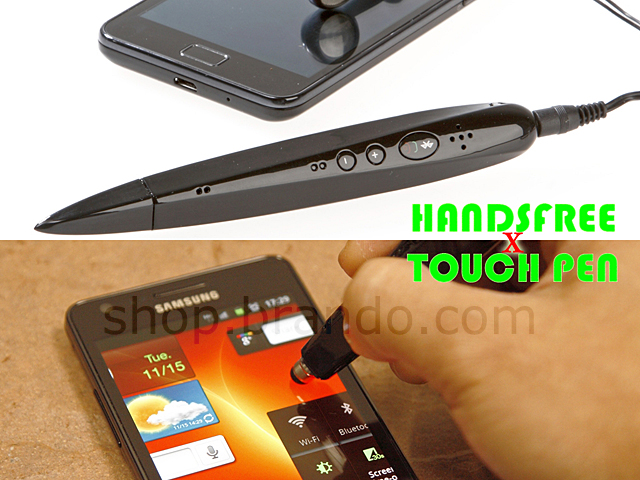 Bluetooth Handsfree + Touch Pen
