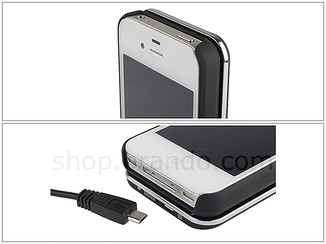 iPhone 4S Ultra-thin Slide-out Wireless Backlight Keyboard