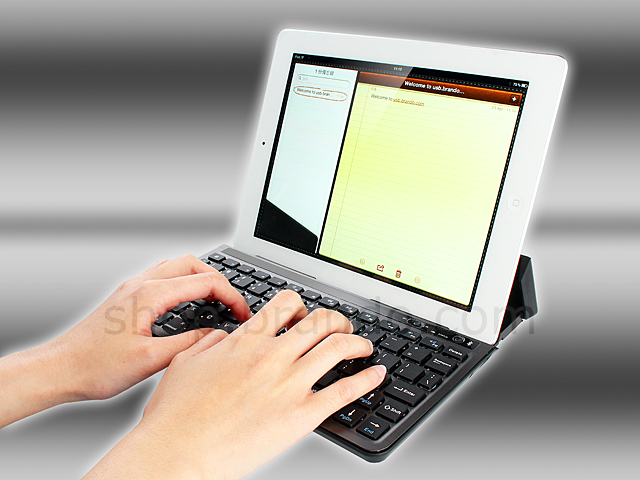 Multifunctional Bluetooth Keyboard with Touch Keypad