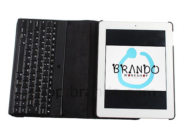 The new iPad (2012) Reclosable Fastener Case with Bluetooth Keyboard