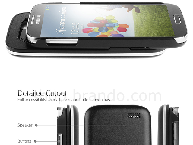 Samsung Galaxy S4 Ultra-thin Slide-out Wireless Backlight ...
