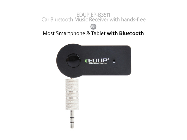 EDUP EP-B3511 Car Bluetooth Music Receiver w/ hands-free