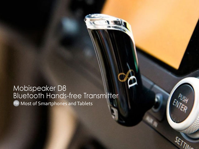 Mobispeaker D8 Bluetooth Hands-free Transmitter