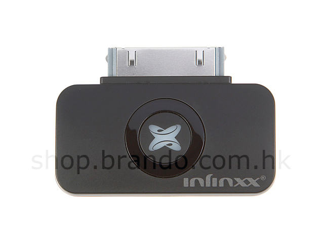 The Smallest iPhone / iPod Bluetooth A2DP Stereo Audio Transmitter - INFINXX AP23