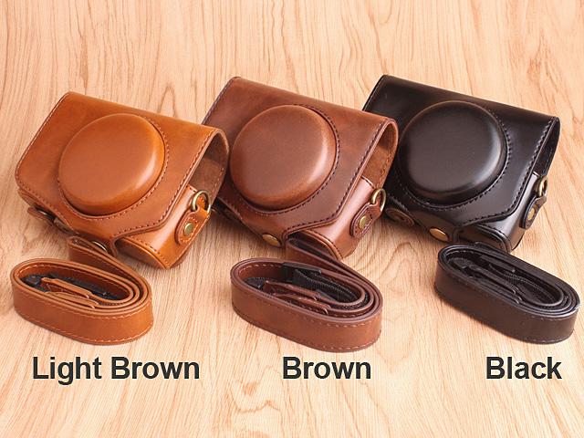 Canon Powershot Sx730 Hs Premium Protective Leather Case