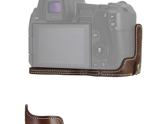 Canon EOS R Half-Body Leather Case Base