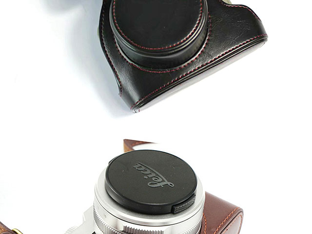 Leica D-Lux 7 Premium Leather Case with Leather Strap