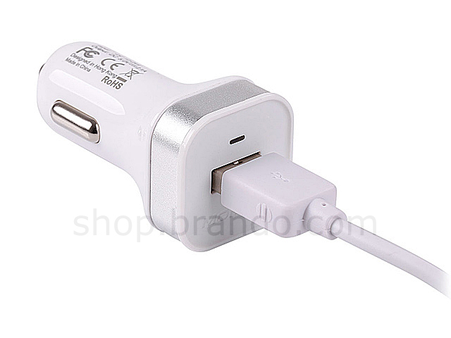 Momax Portable USB Car Charger W/ Micro USB Cable