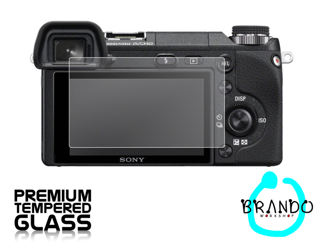 Brando Workshop Premium Tempered Glass Protector for Camera (Sony Alpha NEX-6)