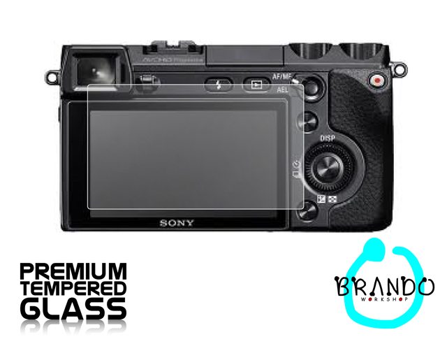 Brando Workshop Premium Tempered Glass Protector for Camera (Sony Alpha NEX-7)